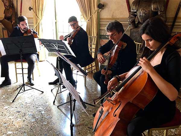 I Filarmonici dell'Opera Italiana ospiti presso il Castello di Rivalta