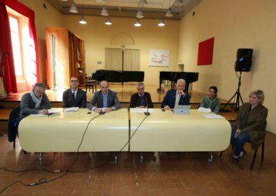 CONFERENZA STAMPA CONVENZIONE ISSM PERI-MERULO e FOI BRUNO BARTOLETTI