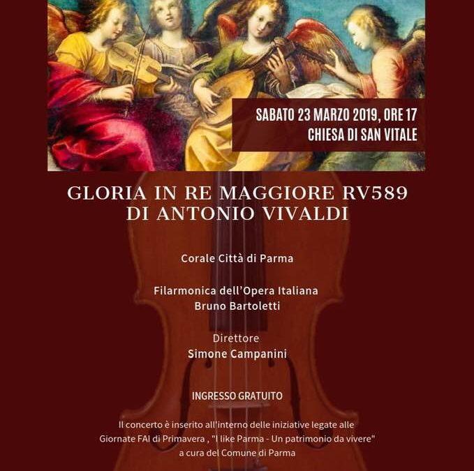 """""""I like Parma"""", sabato 23 la Foi Bruno Bartolettisuona Vivaldi alla Chiesa di S.Vitale"""