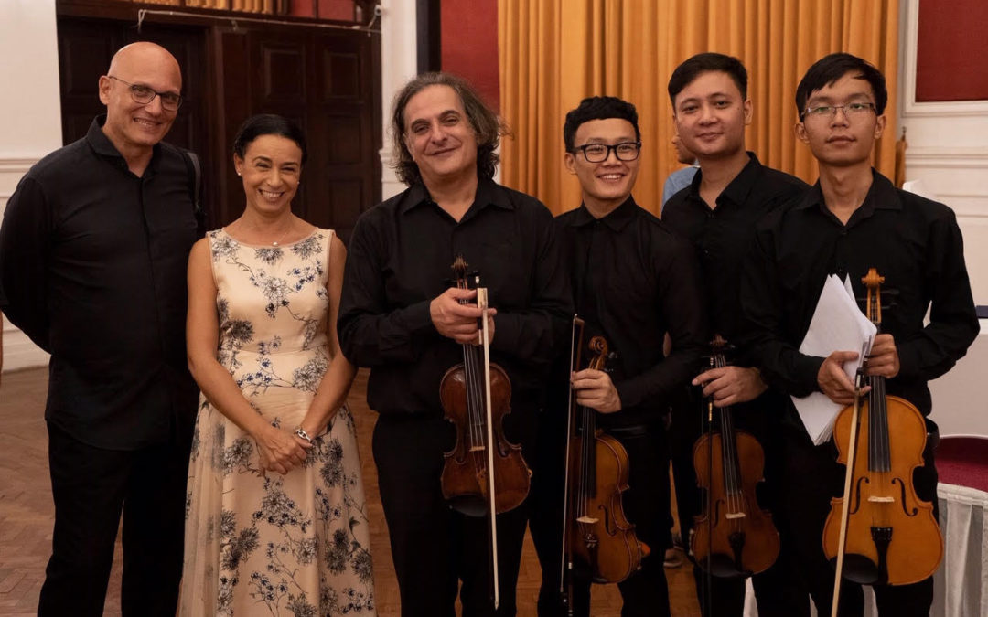 """Il 7 dicembre """"Uniting through music"""" la FOI per la terza volta nel 2019 in Myanmar su invito dell'Ambasciata d'Italia a Yangon"""