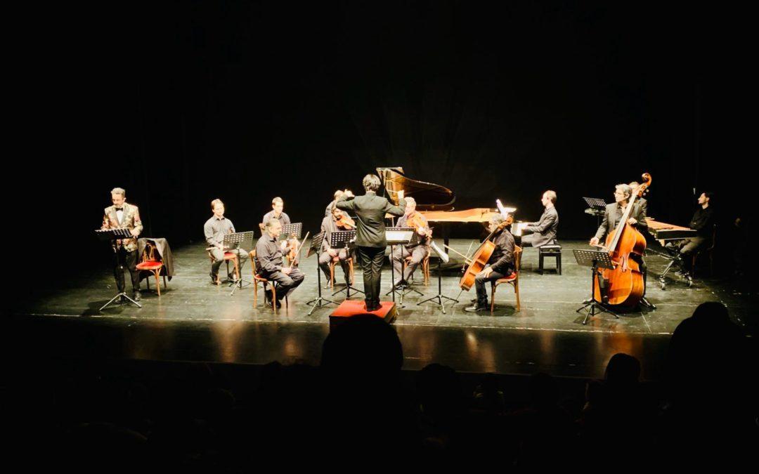 Il Carnevale degli Animali palestra per gli studenti del Master e gioia per i bambini Gli specializzandi di percussione del Conservatorio di Parma suonano a fianco dei Filarmonici dell'Opera Italiana